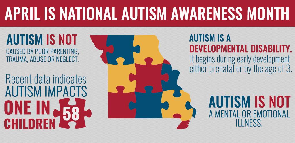 April Marks Autism Awareness Month Governor Michael L