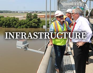 Infrastructure is one of the Governor's Priorities
