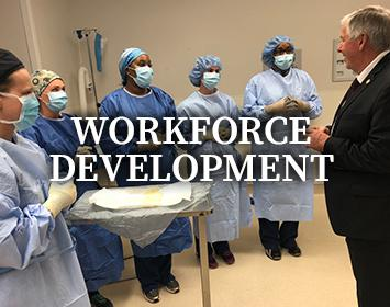 Workforce Development is the Governor's Priority