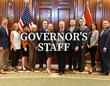 Learn about the Governor's Staff