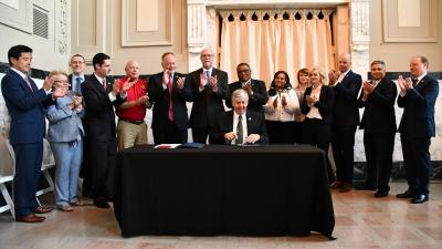 Governor Parson Signs Senate Bill 182